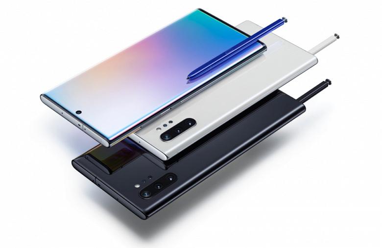 Флагманские смартфоны Samsung Galaxy Note10 и Note10+ выходят в России новости,смартфон,статья