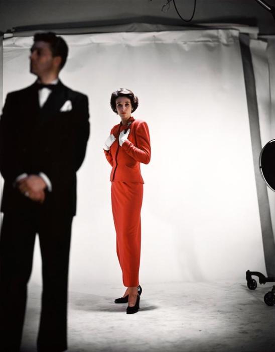 Барбара Пейли много позировала для модных журналов