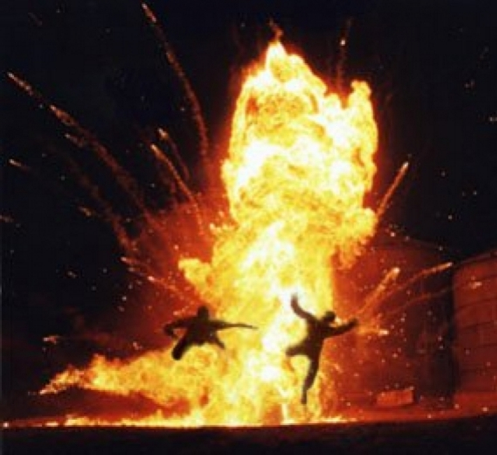 МОЛНИЯ: взрывы в лагере спец…