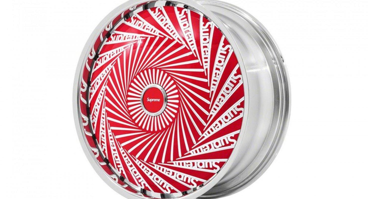 Supreme представил уникальные диски-спиннеры для Rolls-Royce Автомобили