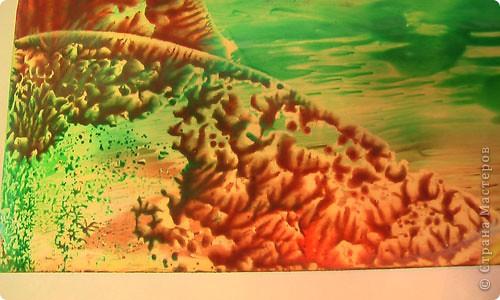 Картина, панно, рисунок, Мастер-класс Энкаустика: как я рисую утюгом Воск. Фото 10