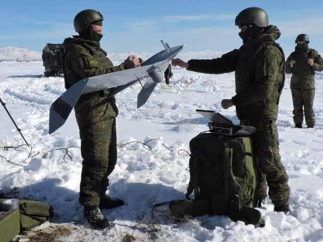 Над Северной Осетией кружили беспилотники