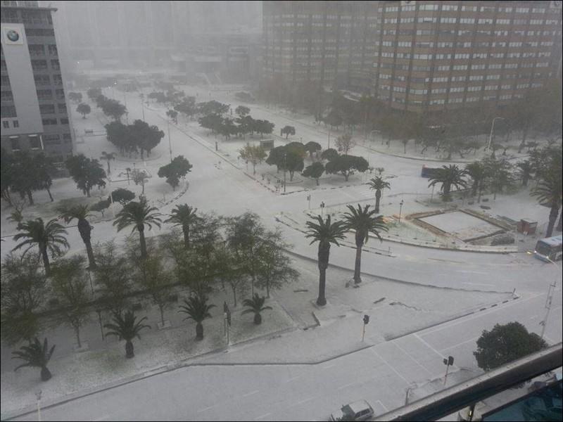 Тоже один из городов Южной Африки зима, мир, снег, юмор