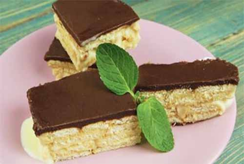 Торт-эклер без выпечки