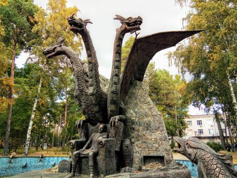 Змеи и чудовища русских былин