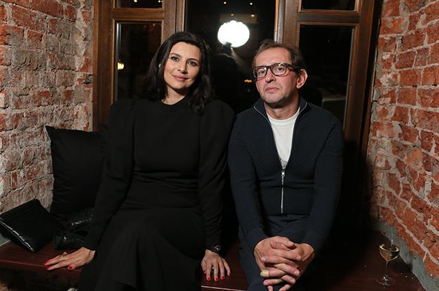 Марина Александрова с мужем, Александра Бортич, Аглая Тарасова и другие на фестивале Patriki Film Festival Светская жизнь