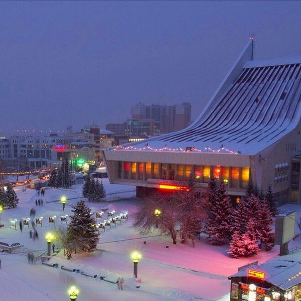 Картинка зимний омск