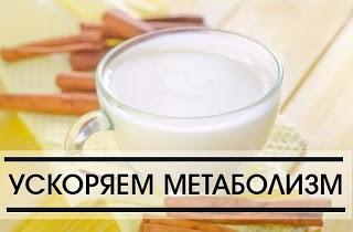 Напитки для ускорения метаболизма:
