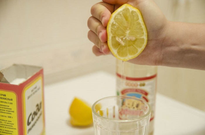 Сода с уксусом похудение