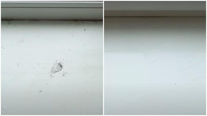 Нехитрый способ, как удалить с пластикового подоконника загрязнения и желтизну