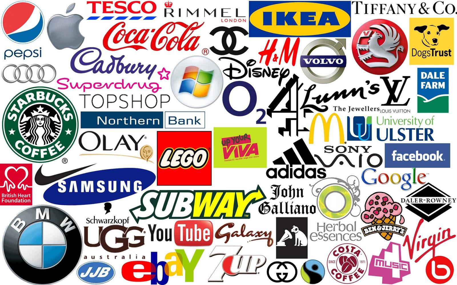 Все значки бренда картинки