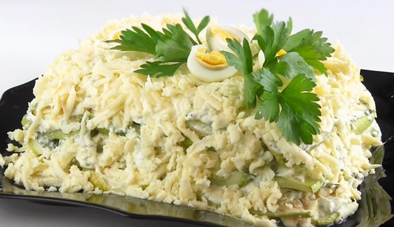 Кабачковый торт без яиц, муки и соды, ни капли жира — только витамины!