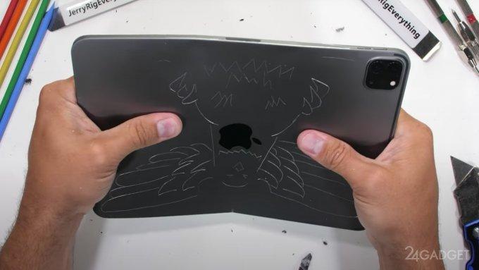 Планшет iPad Pro 2020 испытан на прочность