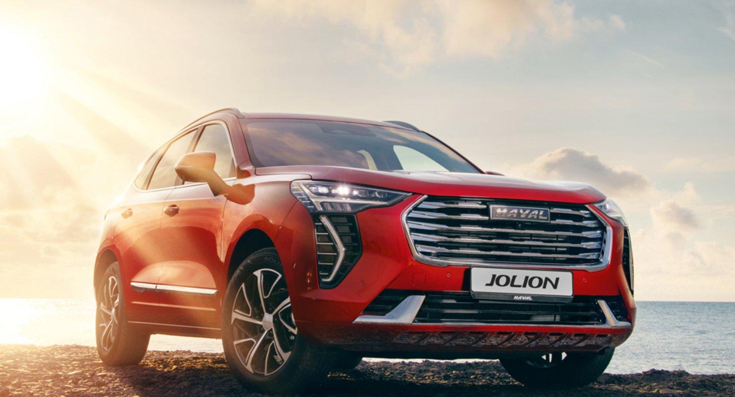 В России стартовали продажи полноприводного HAVAL Jolion Автомобили