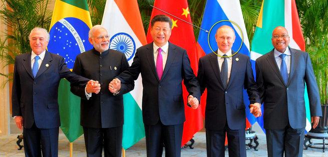 Владимир Путин на саммите Брикс ответил на вопросы