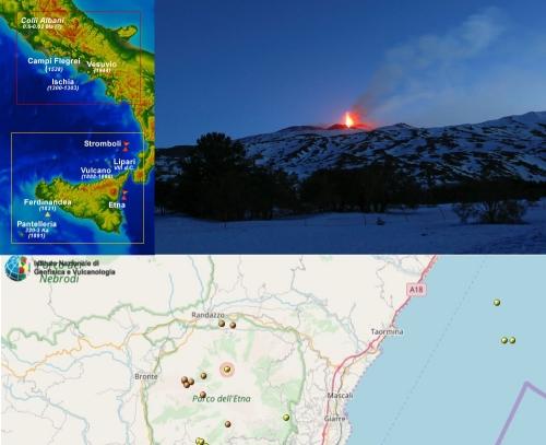 Что происходит с вулканом Эт…