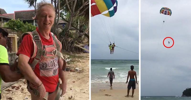 Жена сняла на видео смертельное падение 70-летнего супруга во время отдыха в Таиланде