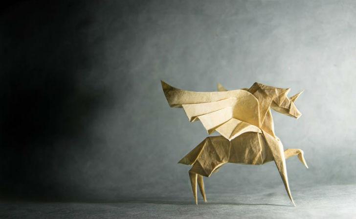 Оригами 80-го уровня