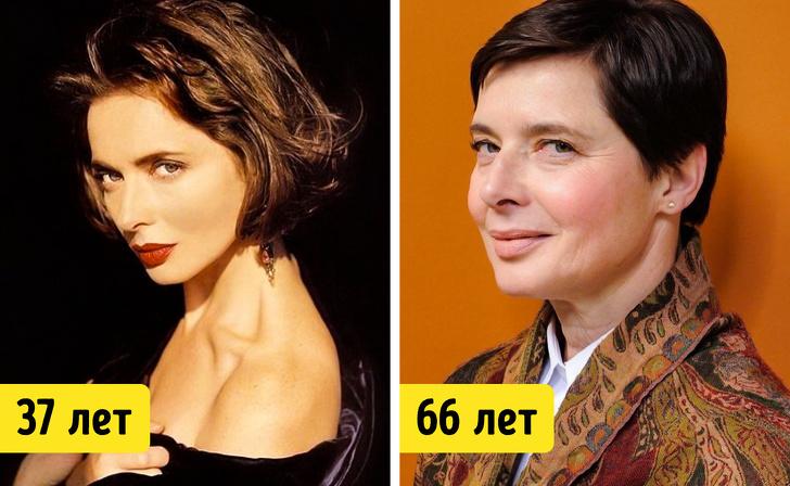 19 известных женщин старше 50 лет, которые никогда не делали пластику