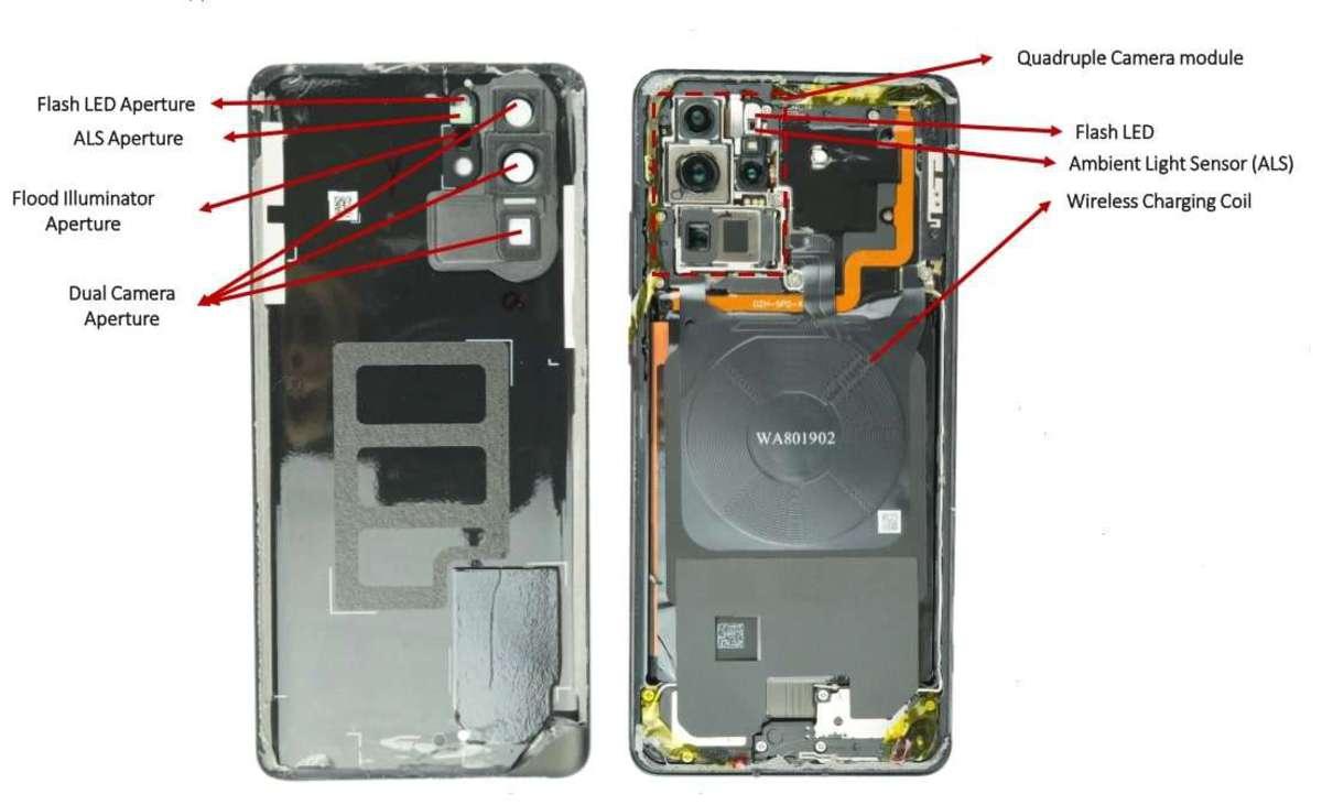 Вскрытие Huawei P30 Pro показало, как устроена лучшая камера в смартфоне huawei p30 pro,интересное,камера,мир,смартфоны,технологии