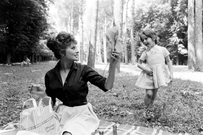 Восхитительная Софи Лорен в фотографиях Альфреда Эйзенштадта