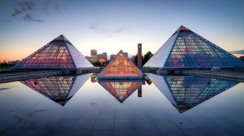 В Канаде тоже любят пирамиды история, пирамиды, тайны