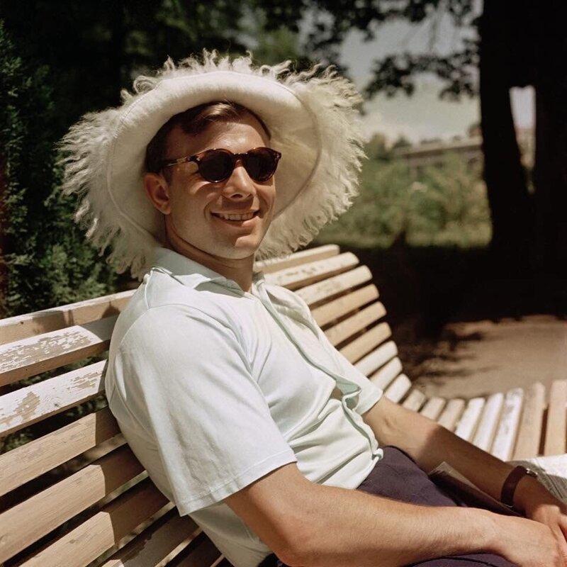 16. Юрий Гагарин в Сочи, 1961 год интересно, исторические фото, история, ностальгия, фото
