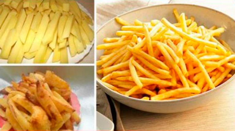 Картошка фри БЕЗ капли ЖИРА.