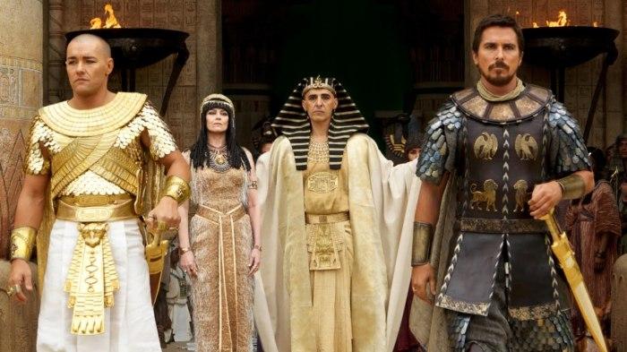 Фильм «Исход: Цари и боги» был запрещён в Египте.