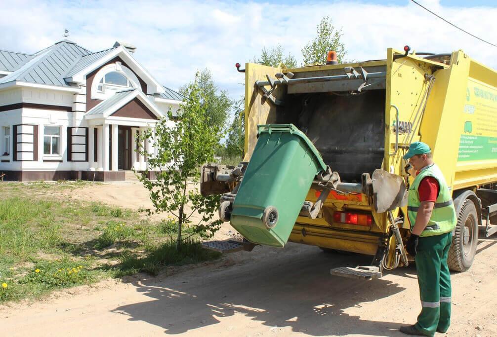 А можно ли не платить за мусор? необычные дома,о недвижимости