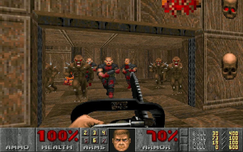 Переиздания Doom получили поддержку дополнений, быстрых сохранений и частоты 60 кадров в секунду doom,Игровые новости,Игры,ремастер,Шутеры