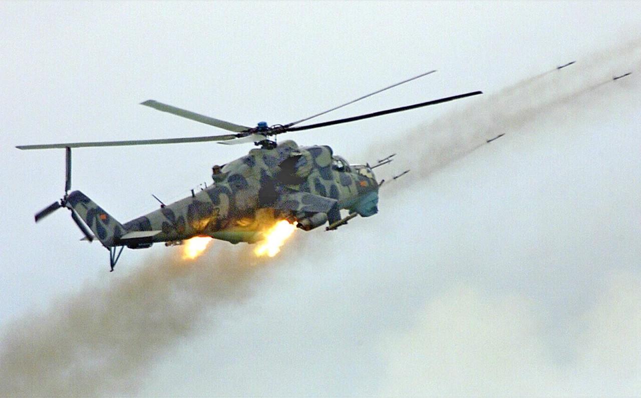 Как Ми-24В уничтожил израильский истребитель