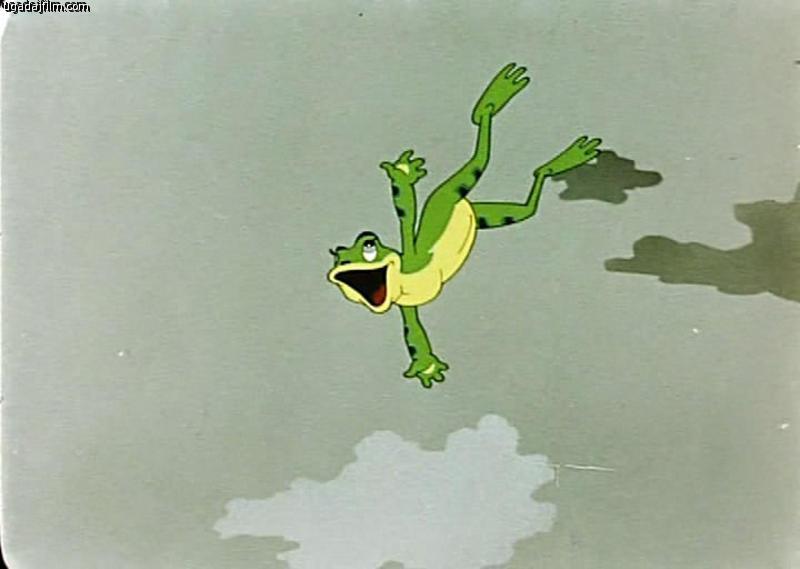 Картинка лягушки путешественницы с узелком