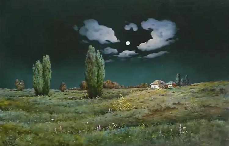 Тиха украинская ночь…