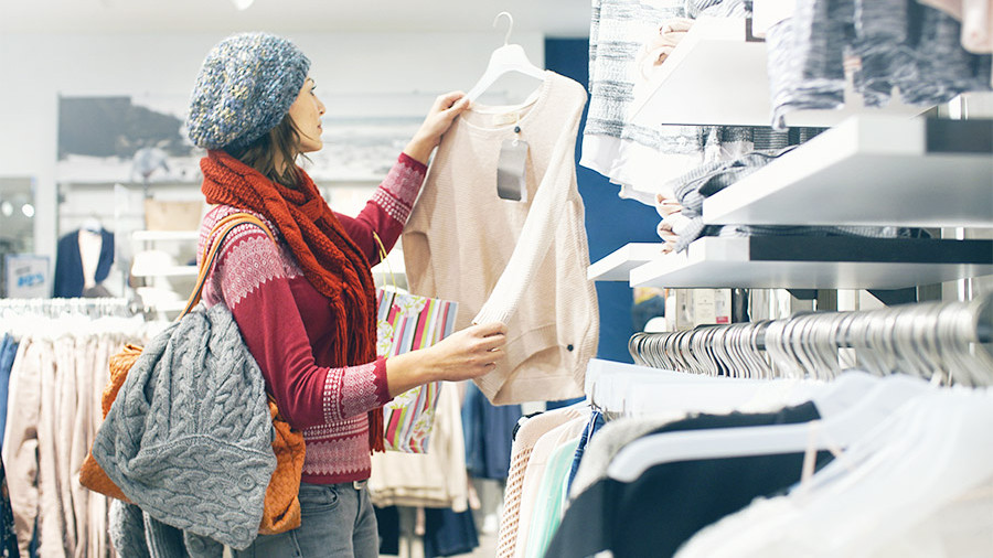 Одежда может подешеветь на 10% в следующем году