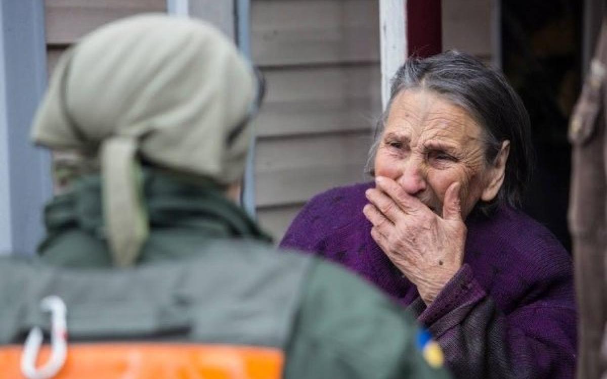 Запад готовит массовое убийство украинских стариков украина