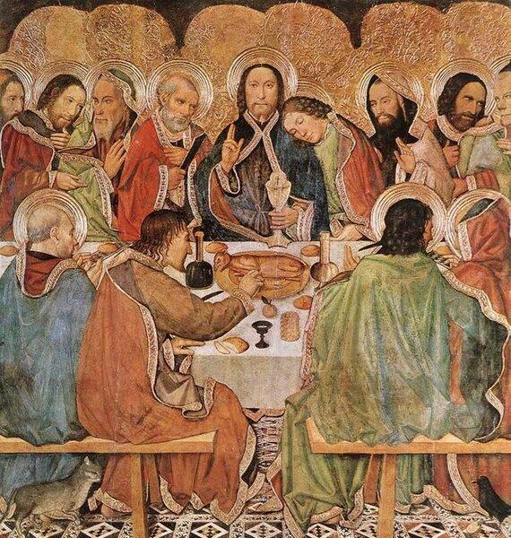 Хайме Уге. Тайная вечеря. 1470