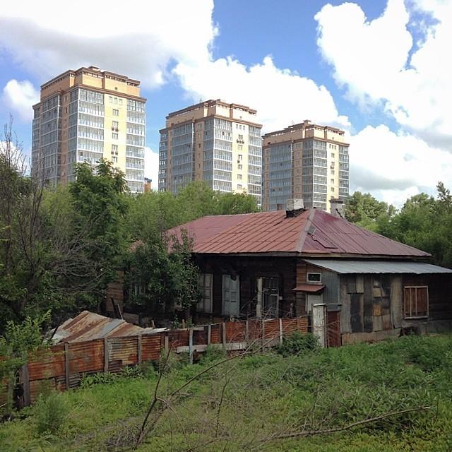 Хабаровск: каменные джунгли наступают города, жизнь, контрасты, прикол, россия