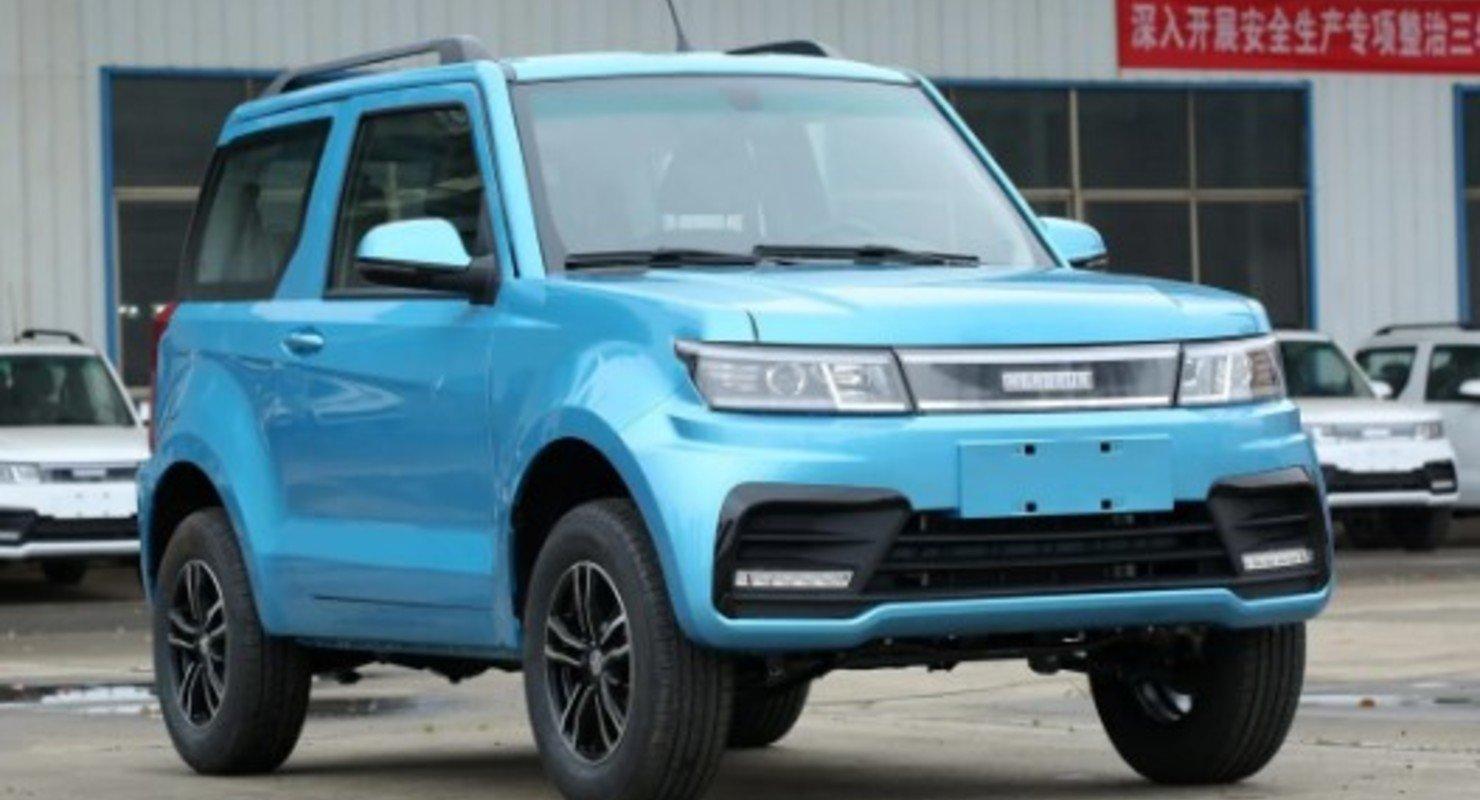 Китайцы выпустили свою «Ниву» за 570 000 рублей, которой не нужен бензин Автомобили