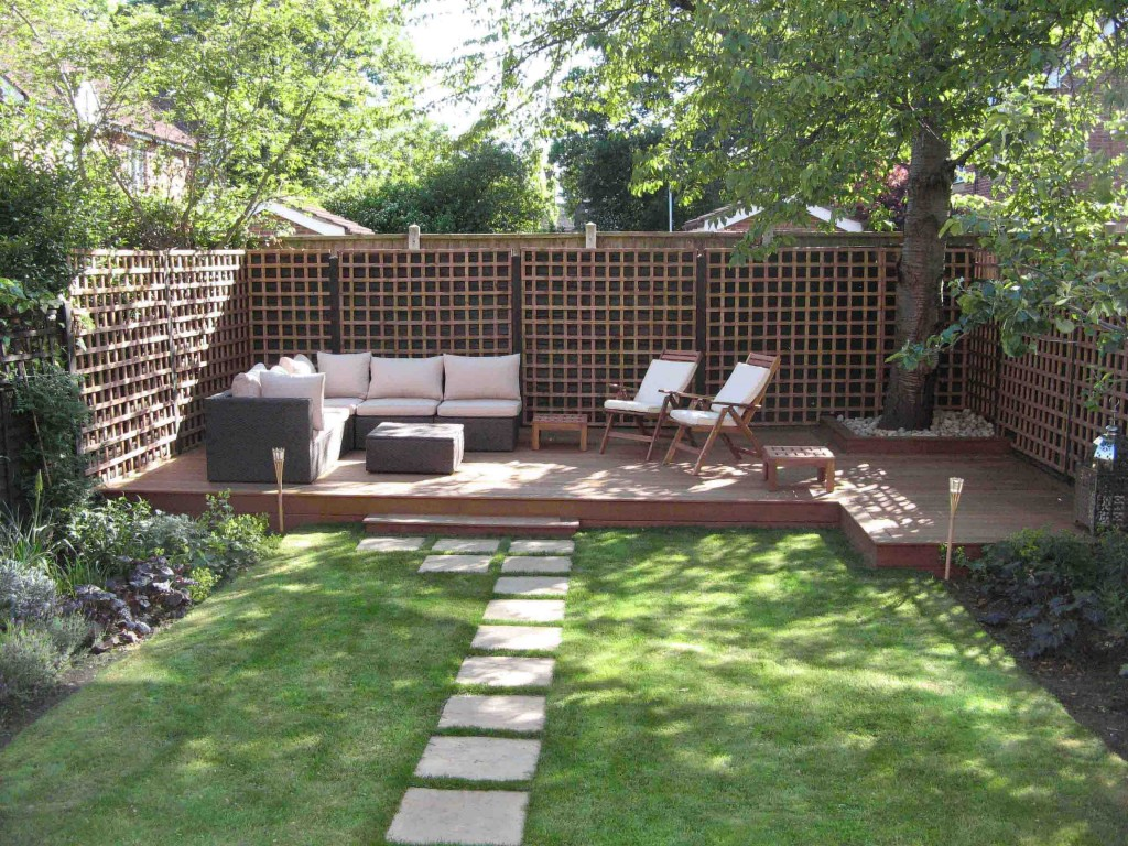 25 Landscape Design For Small Spaces | Modern backyard, Small ...