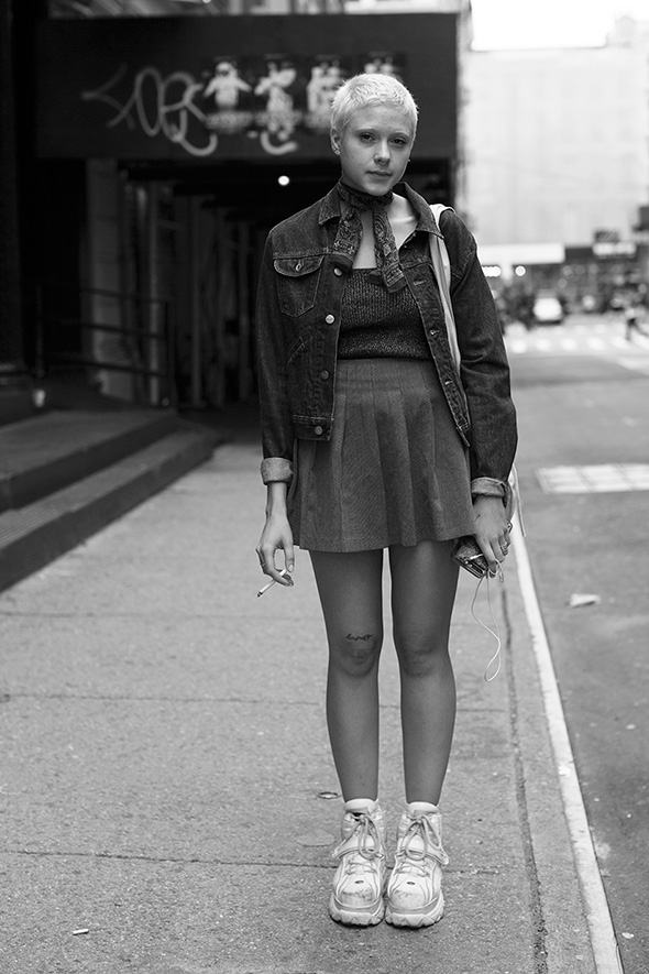 On the Street…Howard St., New York