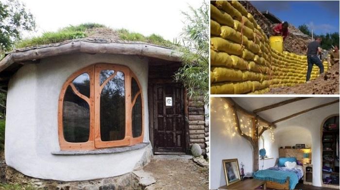 Молодая пара доказала своим примером, что построить дом можно буквально за копейки