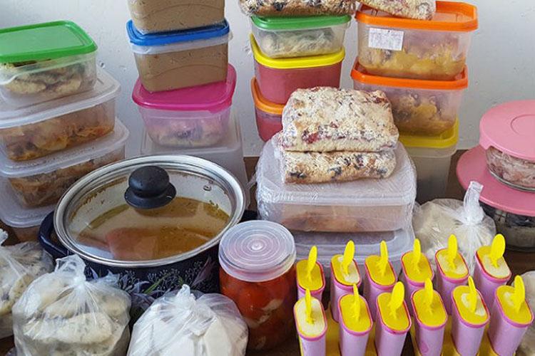 Как заготовить много вкусной и полезной еды впрок