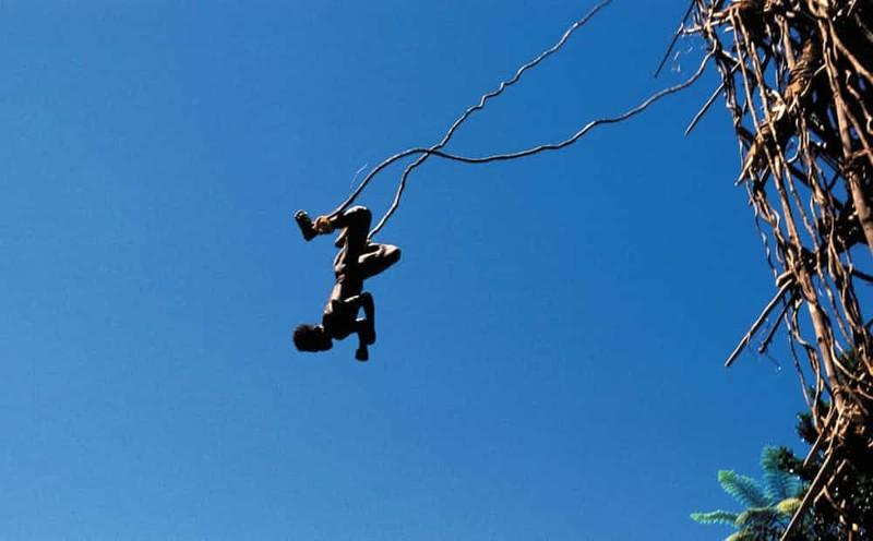 6. Вануату - прыжки с высоты мир, ритуал, странность