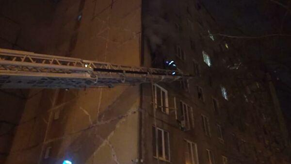 При пожаре в многоэтажном доме в Уфе погибли три человека