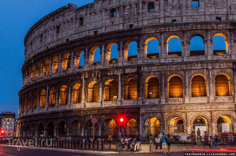 Вечерние прогулки по Риму