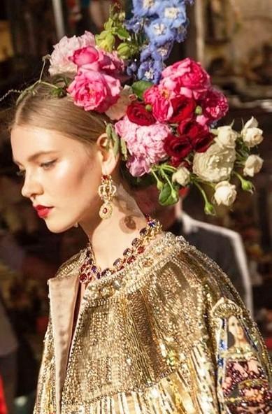 c2d6d3df7d52 Dolce   Gabbana Haute Couture 2016-2017 — детали, вackstage и прочее ...