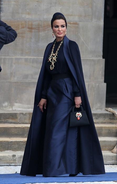 Шейха Моза - икона стиля, сломавшая стереотипы о восточных женщинах