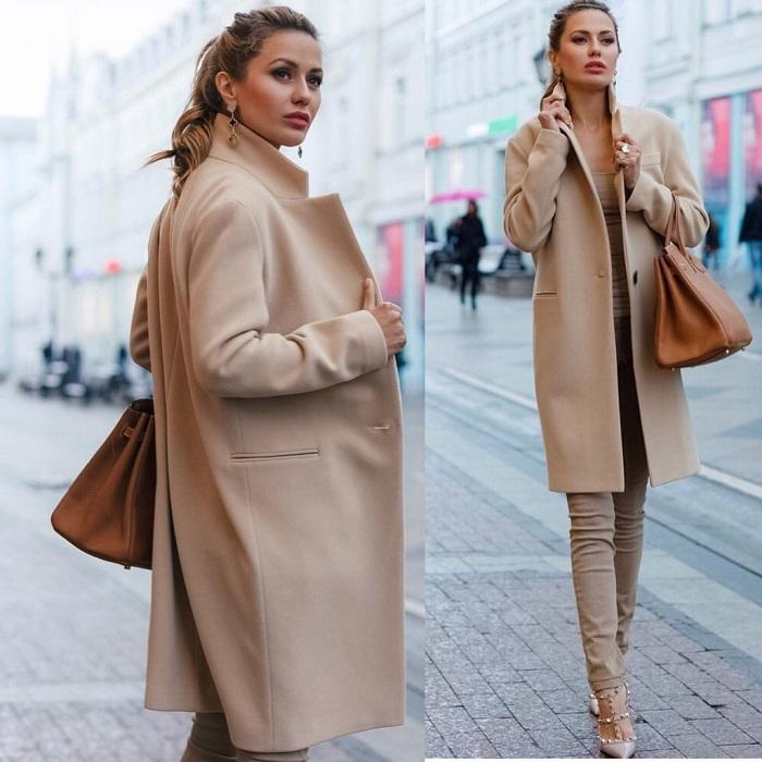 Бежевое кашемировое пальто - это нестареющая классика. / Фото: Klubok.com