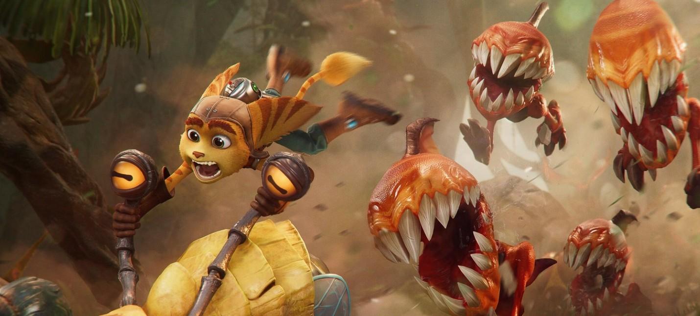 Демонстрация арсенала и перемещений в новом трейлере Ratchet & Clank: Rift Apart action,adventures,arcade,fantasy,pc,ps,xbox,Аркады,Игры,Приключения